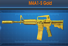 M4A1-S Gold  1 ngày